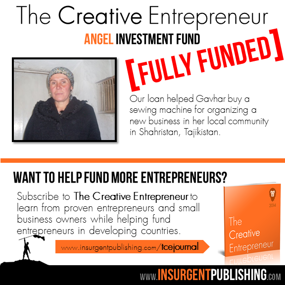The Creative Entrepreneur Angel Investment Fund