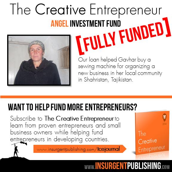 The Creative Entrepreneur Angel Investment Fund