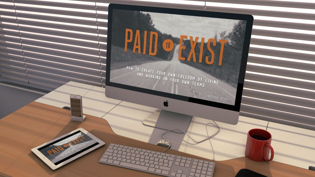Paid to Exist desk space